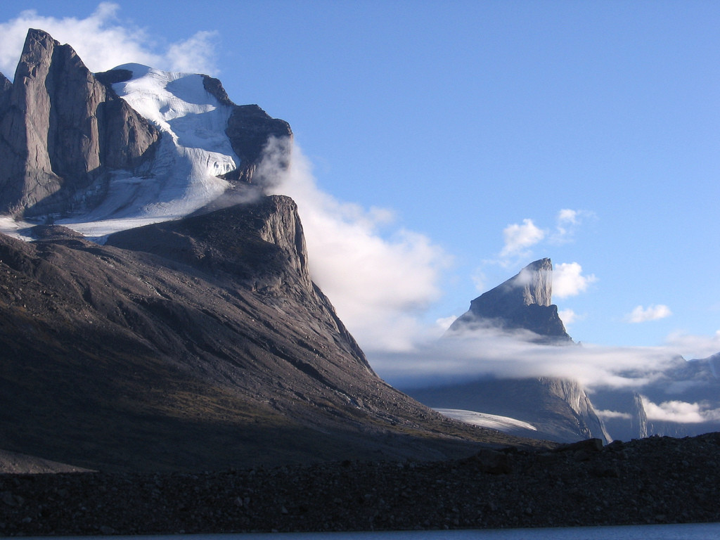 Mount Thor in Canada