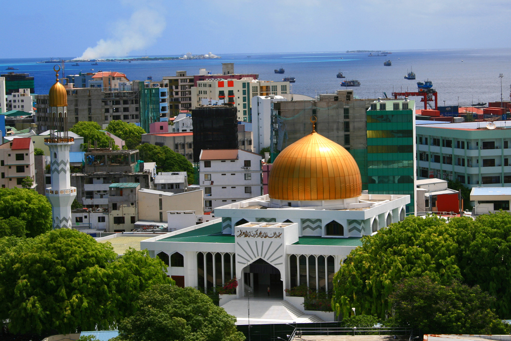 The capital of the Maldives
