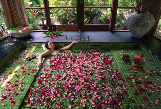 Four Seasons floral day  spa Langkawi