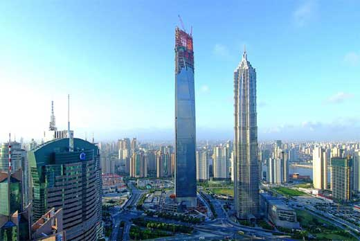 International Financial Tower in Shanghai