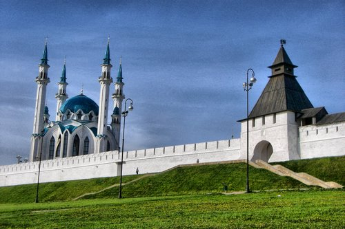 Kul Sharif Mosque in Kazan - Russia 1