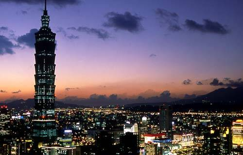 Taipei 101 Tower in Taipei