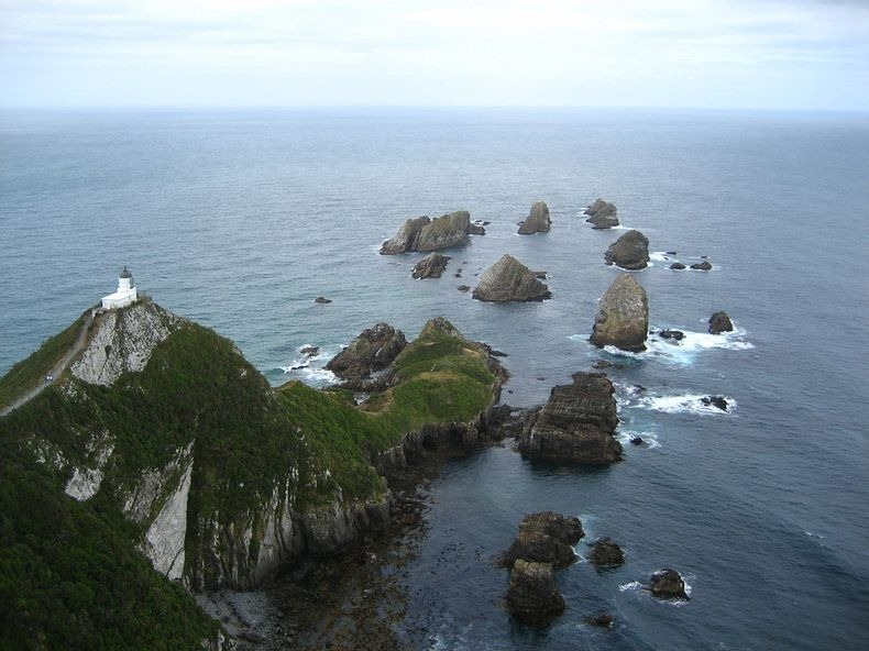 Nugget Point Lighthouse New Zealand  (1)