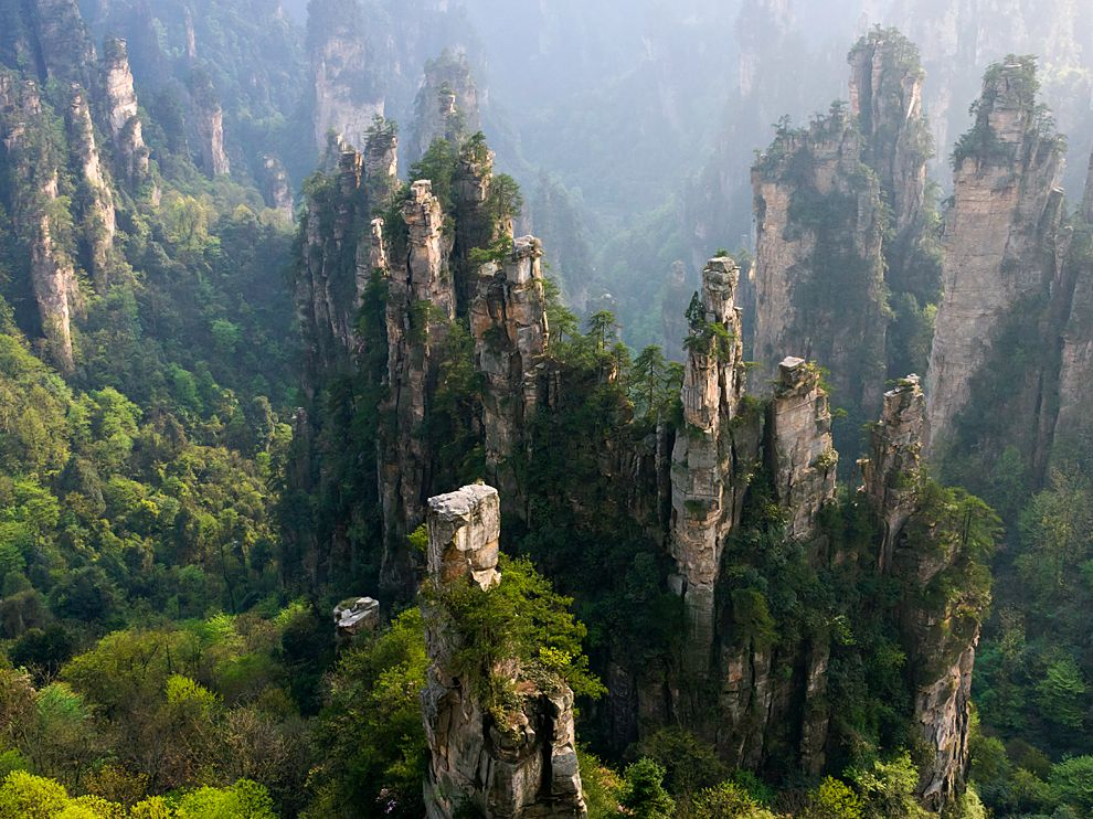 Zhangjiajie National Forest Park china (1)