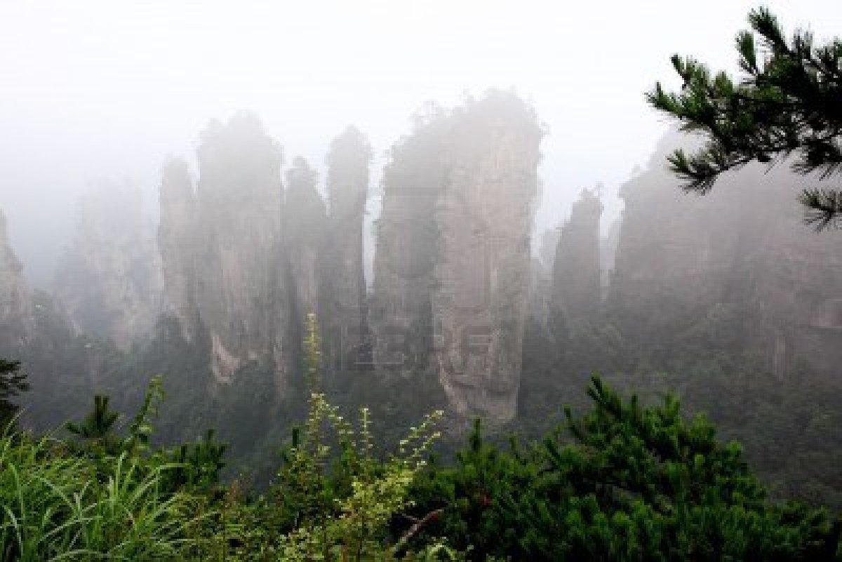 Zhangjiajie National Forest Park china (10)
