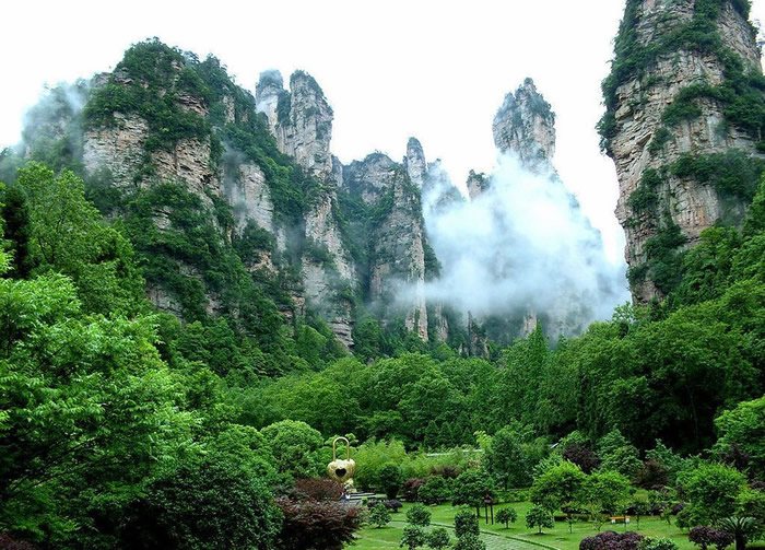 Zhangjiajie National Forest Park china (13)