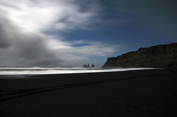 Dark beach in Iceland (2)