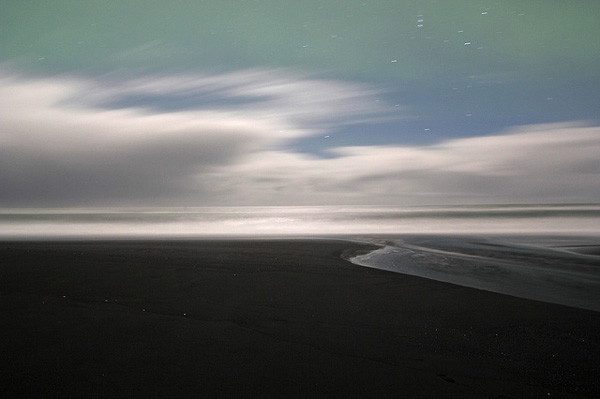 Dark beach in Iceland (3)