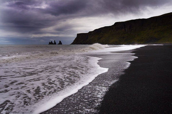 Dark beach in Iceland (4)