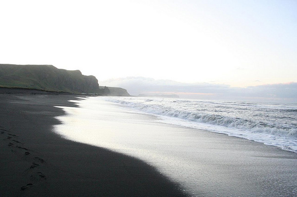 Dark beach in Iceland (5)