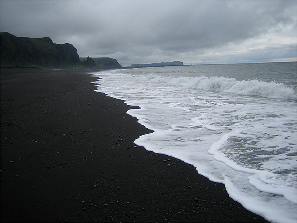 Dark beach in Iceland (8)