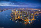 amazing aerial shots of New York taken as he dangled out of a helicopter (14)