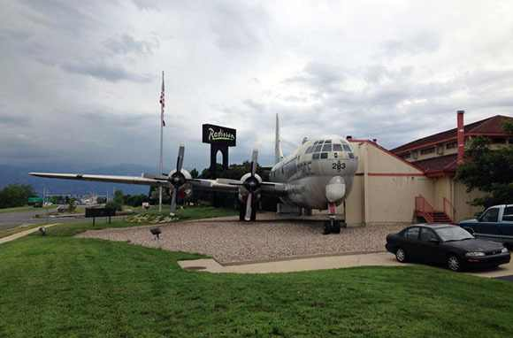 The Airplane Restaurant, Colorado Springs, Colorado