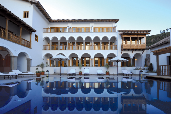 Palacio Nazarenas by Orient-Express